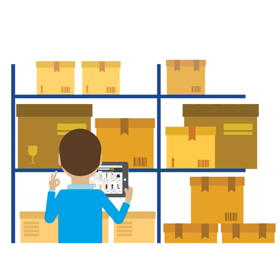 estanterias de almacen para preparacion de pedidos