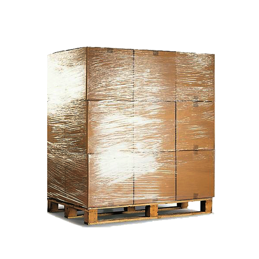 Palet europeo de cajas